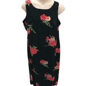 Studio I Size 20W Sundress Floral Maxi Plus Size
